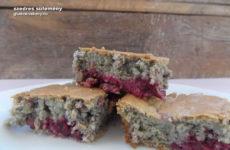 Szedres gluténmentes sütemény recept