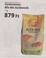 Alfa mix gluténmentes lisztkeverék