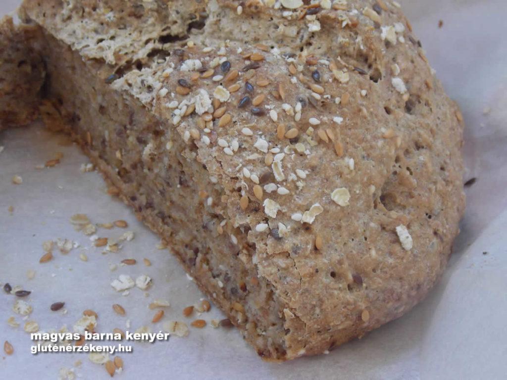 gluténmentes barna kenyér recept