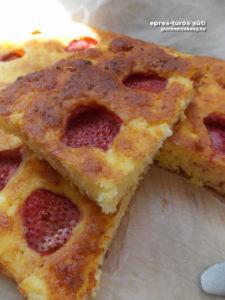 epres túrós gluténmentes sütemény recept