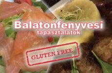 Balatonfenyves - milyen lehetőségeink vannak gluténérzékenyként? Vica 2 helyet tesztelt.