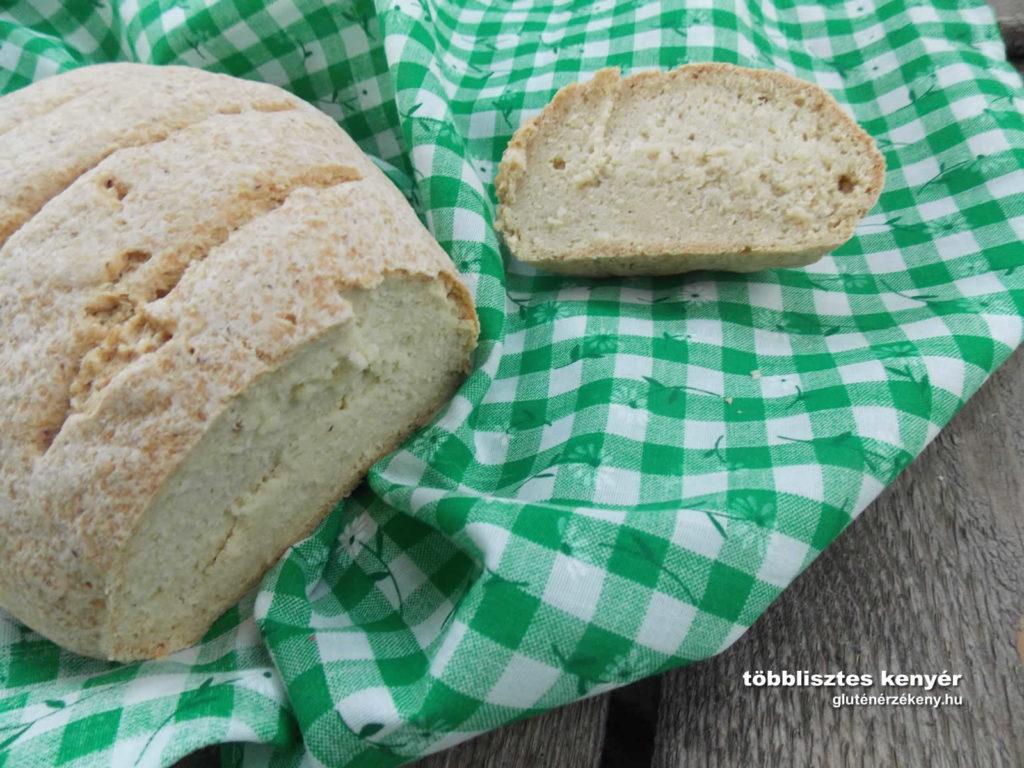 gluténmentes kenyér recept | kenyérsütés glutén nélkül