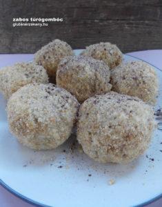 gluténmentes túrógombóc recept zabbal