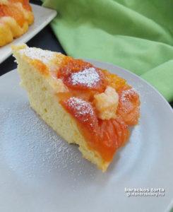 gluténmentes torta recept sárgabarackos