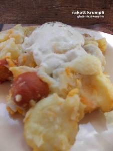 rakott krumpli gluténmentes egytálétel recept