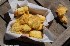 Túrós-zabos - gluténmentes tízórai falatok