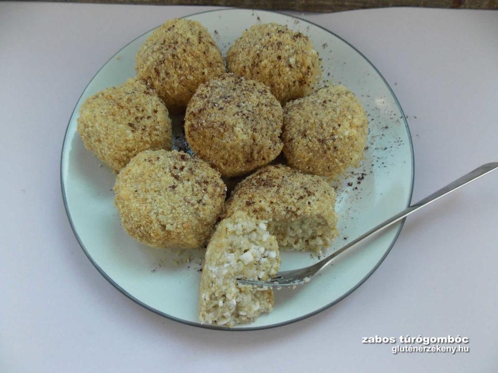 zabos gluténmentes túrógombóc recept