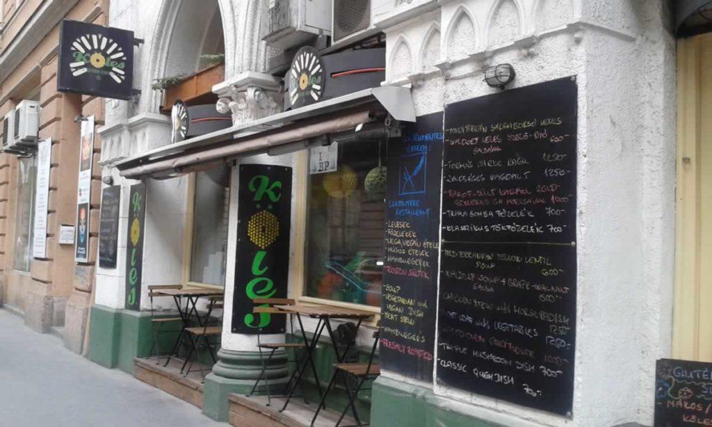 Köles a reform konyha gluténmentes étterem