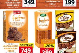 Lidl-08.21-08.23 gluténmentes élelmiszerek