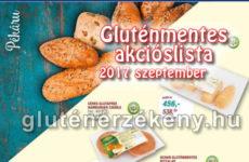 Gluténmentes akciós lista 2017 szeptember