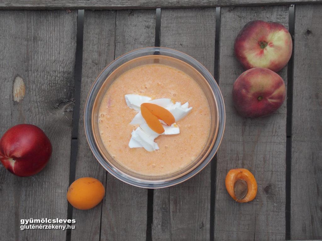 gluténmentes gyümölcsleves recept