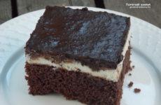Túrórudi szelet - gyors gluténmentes sütemény