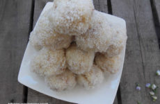 Kókuszos császármorzsa golyók gluténmentesen