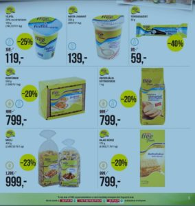 gluténmentes termék akció SPAR
