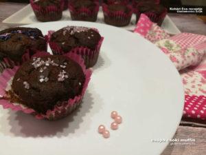csokis gluténmentes muffin recept