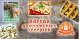 körtés gluténmentes receptek