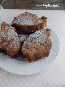 édes gluténmentes bagett recept | gluténmentes péksütemény