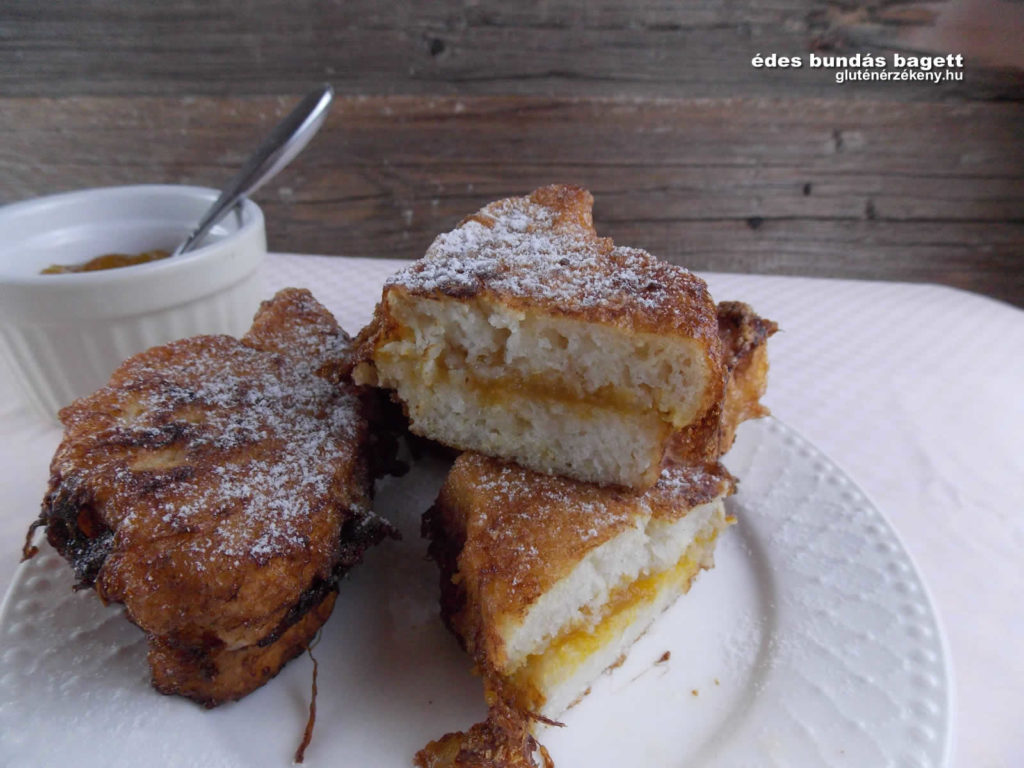 édes gluténmentes bagett | gluténmentes péksütemény