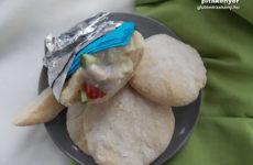 IR barát, gluténmentes pita készítés