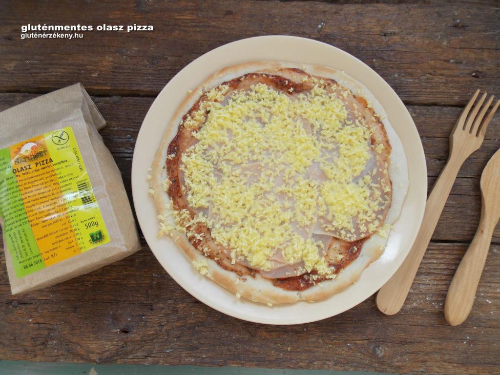 gluténmentes olaszpizza recept