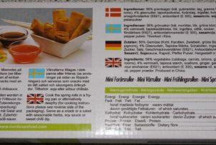 glutént tartalamazó tavaszti tekercs termékvisszahivas