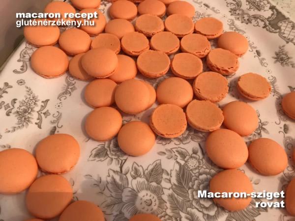 halloween gluténmentes macaron