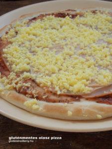 olasz gluténmentes pizza recept