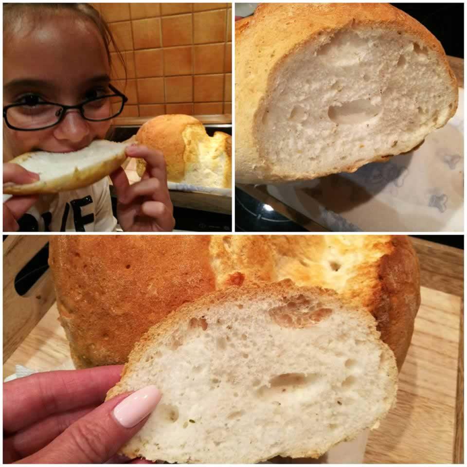 sütőben sütött gluténmentes kenyér recept Mester Család