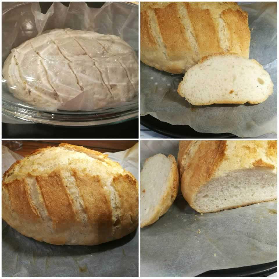 sütőben sütött gluténmentes kenyér recept Mester és Nutri
