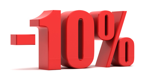 10% kevdezmény