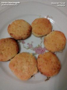 túrós gluténmentes korongok recept