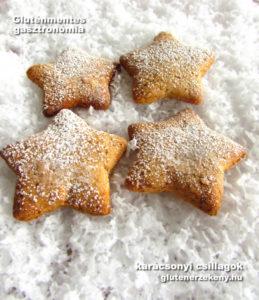 tejmentes tojásmentes gluténmentes karácsonyi csillag