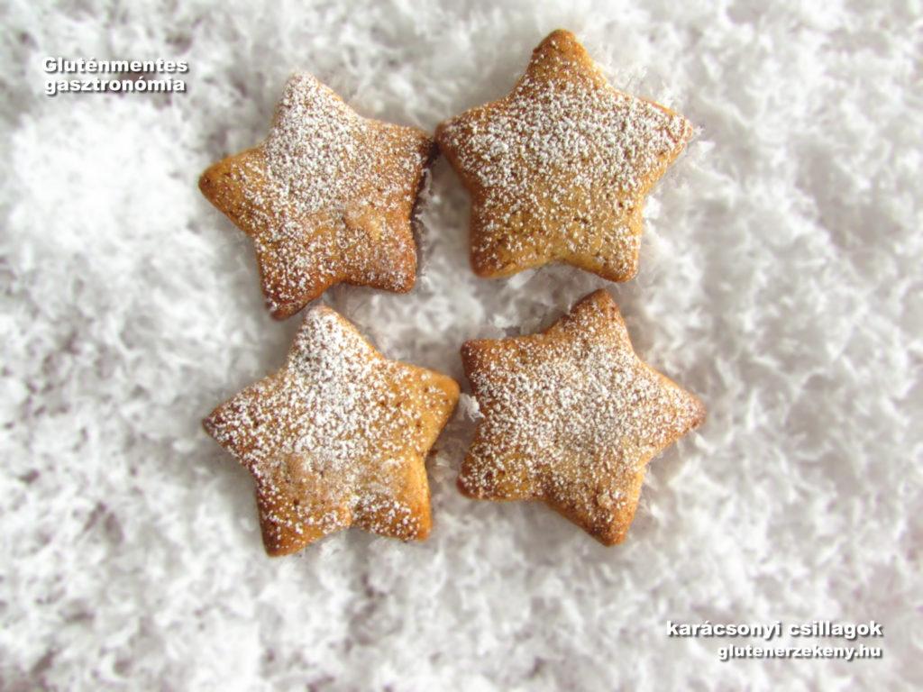 tejmentes tojásmentes gluténmentes karácsonyi csillag recept