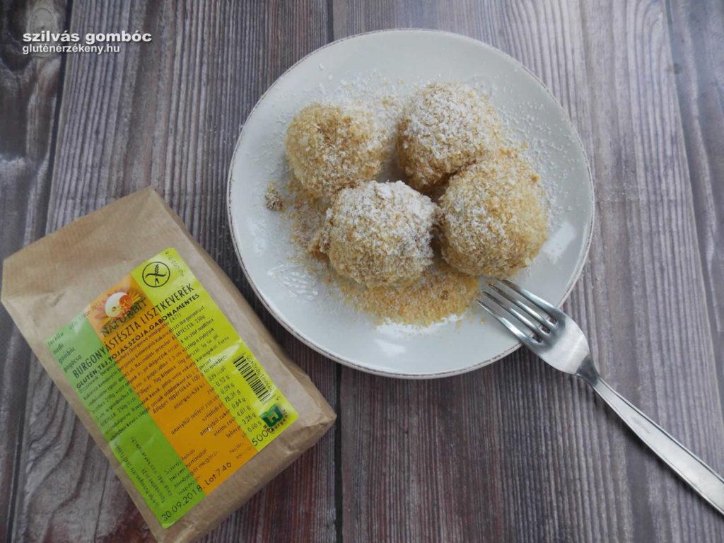 gluténmentes gombóc recept szilvás