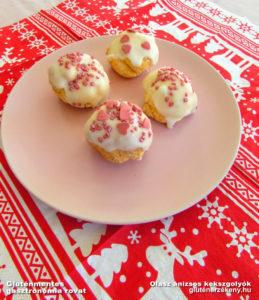gluténmentes kekszgolyók