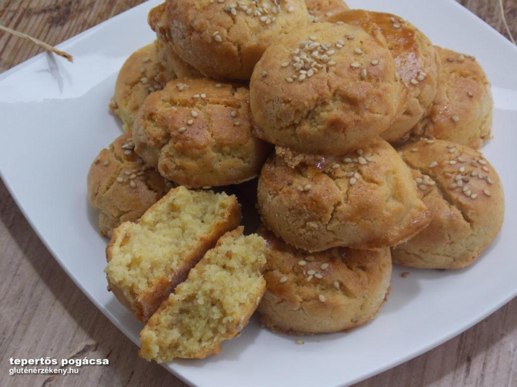 gluténmentes tepertős pogácsa recept