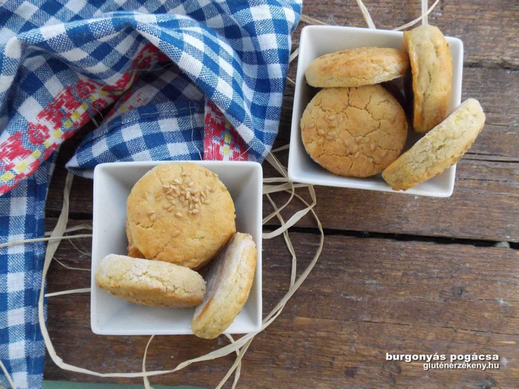 hajdinás gluténmentes burgonyás pogácsa recept