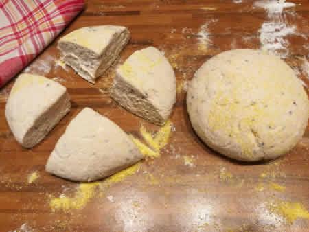 gluténmentes péksütemény recept magos háromszögek   Kohári Éva Gluténmentes Íz-Lik