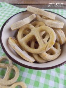 mini gluténmentes perec recept
