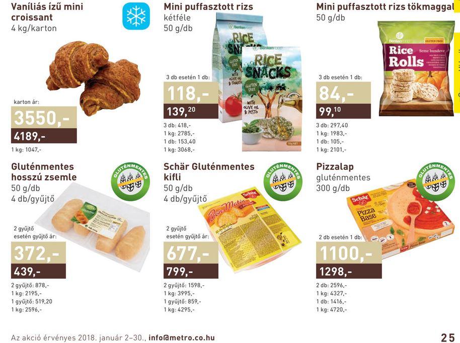 METRO gluténmentes termékek