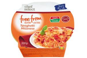gluténmentes tésztaétel milánói spagetti