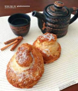 fahéjas gluténmentes briós recept