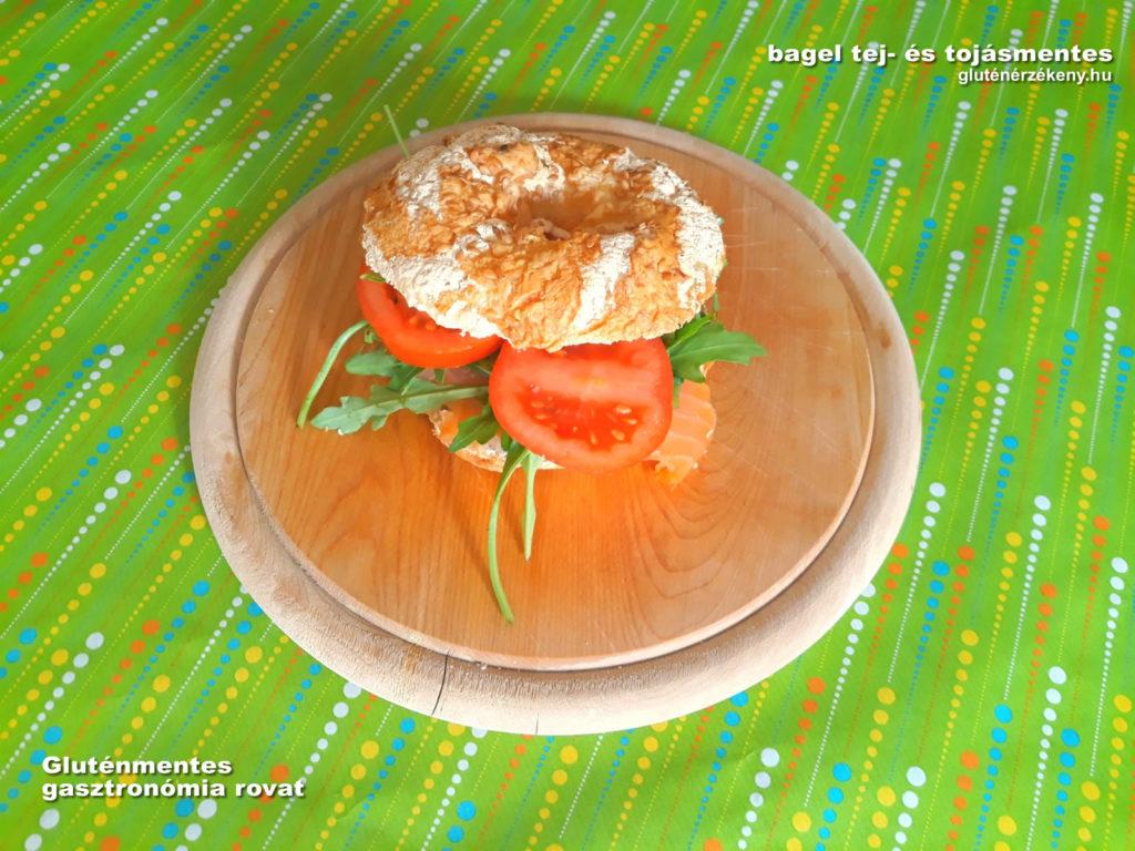 gluténmentes bagel recept gluténmentes gasztronómia