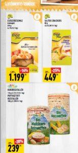 SPAR gluténmentes termékek Free from