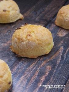 burgonyás gluténmentes pogácsa recept