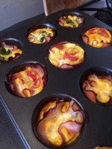 gluténmentes omlett muffin recept