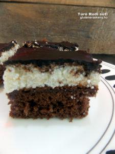 Túró Rudi gluténmentes sütemény recept
