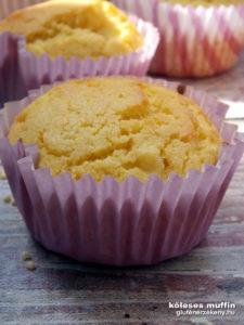 tejmentes köleses gluténmentes muffin recept