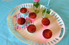 Kókuszos-írós laktóz- és gluténmentes muffin édesítőszerrel