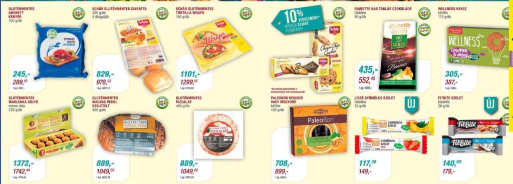 Metro gluténmentes élelmiszerek